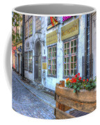 Shops And Flower Boxes Coffee Mug