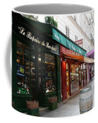 Shops On Rue Cler Coffee Mug