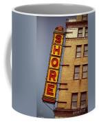 Shore Building Sign - Coney Island Coffee Mug