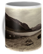 Shore Of A Loch In The Scottish Highlands Coffee Mug
