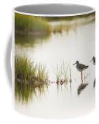 Shorebirds At Dusk Coffee Mug