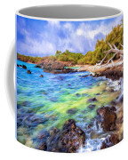 Shoreline At Puako Coffee Mug