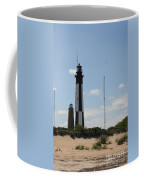 Short And Tall Cape Henry Lights Coffee Mug