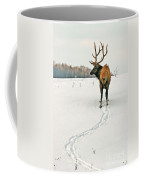 Shortest Distance Elk Coffee Mug