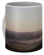 Shortline Freight Train In The Fog Coffee Mug