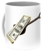 Shovel Of Dollar Coffee Mug