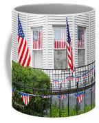Showing The Flag Usa Coffee Mug