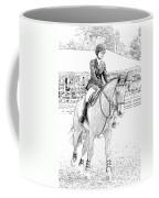 Showjumper Coffee Mug
