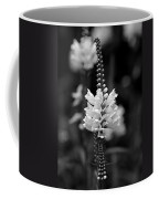 Obedient Plant In Black And White Coffee Mug