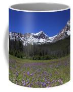 Showy Penstemon Wildflowers Sawtooth Mountains Coffee Mug