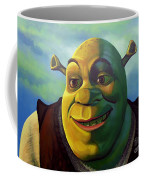 Shrek Coffee Mug by Paul Meijering