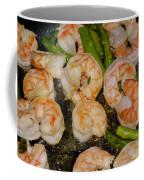 Shrimp And Asparagus Coffee Mug