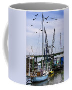 Shrimp Boats At Lazaretto Creek Coffee Mug