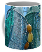 Shrimp Net Close Up Coffee Mug