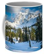 Shuksan Winter Paradise Coffee Mug by Inge Johnsson