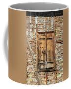 Shuttered Window Coffee Mug