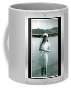 Shy Girl With New Easter Dress Coffee Mug