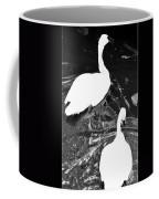 Shy Swans Coffee Mug