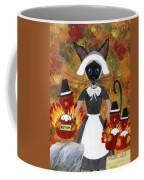 Siamese Queen Of Thanksgiving Coffee Mug