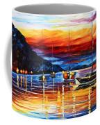 Sicily Messina Coffee Mug by Leonid Afremov