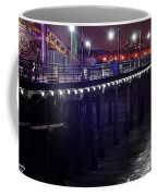 Side Of The Pier - Santa Monica Coffee Mug