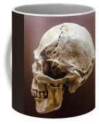 Side Profile View Of Human Skull   Coffee Mug