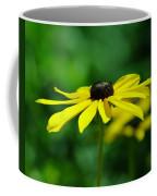 Side View Of A Yellow Flower Coffee Mug