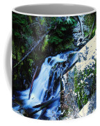 Side View Of Bumping Creek Falls Coffee Mug