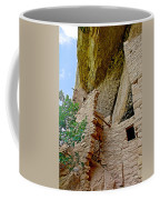 Side Window In Spruce Tree House On Chapin Mesa In Mesa Verde National Park-colorado  Coffee Mug
