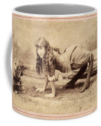 Sideshow Camel Girl, 1886 Coffee Mug