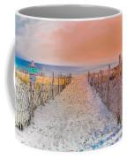 Sideside Heights Sunset Coffee Mug
