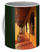 Sidewalk In Tlaquepaque District Of Guadalajara Coffee Mug by Elena Elisseeva
