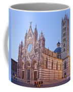Siena Duomo At Sunset Coffee Mug by Liz Leyden