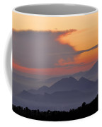 Sierra Elvira Mountains At Sunset Coffee Mug