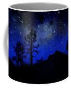 Sierra Silhouette Wall Mural Coffee Mug