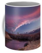 Sierra Wave And Lower Owens Coffee Mug