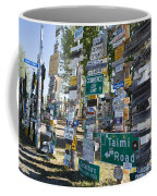 Sign Forest Watson Lake Coffee Mug