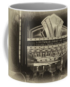 Signage A Journey Into The Movies Coffee Mug