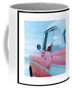 Signed Chevy Belair At The Beach Mini Coffee Mug