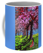 Contemporary Jesus Painting, Silent Communion Coffee Mug