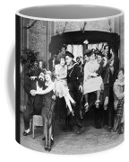 Silent Film Still: Parties Coffee Mug