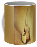 Silent Guitar Coffee Mug by Priska Wettstein