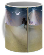 Silent Night - Gently Cross Your Eyes And Focus On The Middle Image Coffee Mug