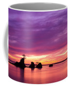 Siletz Bay And The Three Brothers Coffee Mug