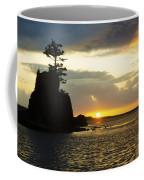 Siletz Bay Sunset Oregon 1 Coffee Mug