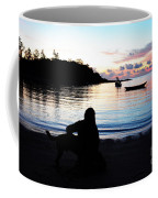 Silhouette At Sunrise Coffee Mug