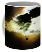 Silhouette Cloud Coffee Mug