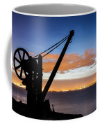 Silhouette Of Davit Coffee Mug