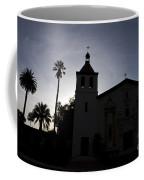 Silhouette Of Mission Santa Clara Coffee Mug