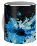 Silhouette Of Nature II Coffee Mug by Patricia Awapara